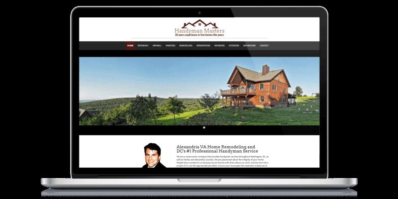 web design client in northern va