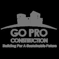 Go Pro Construction logo