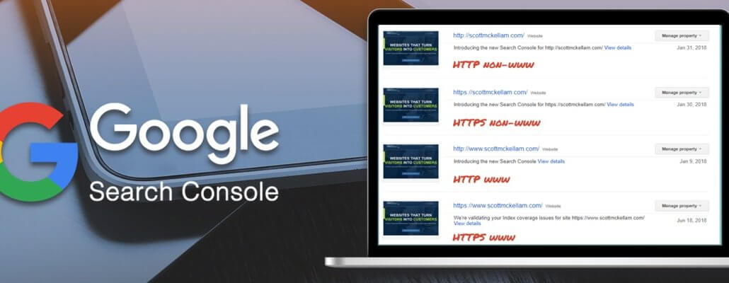 Google Search Console may be making some changes
